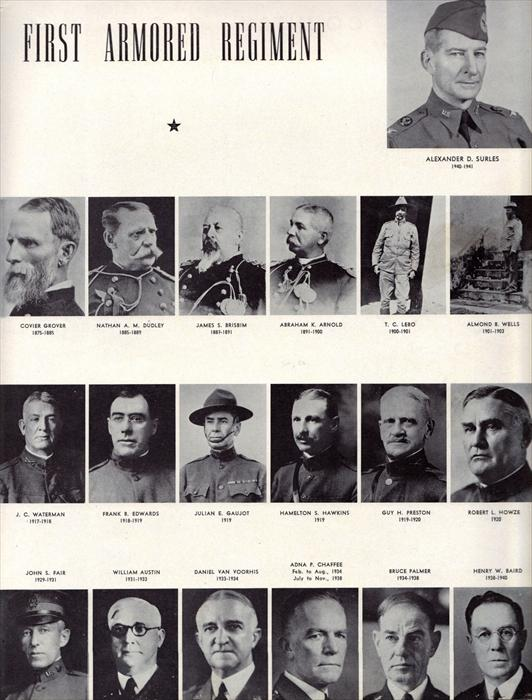 More pics of past commanders.