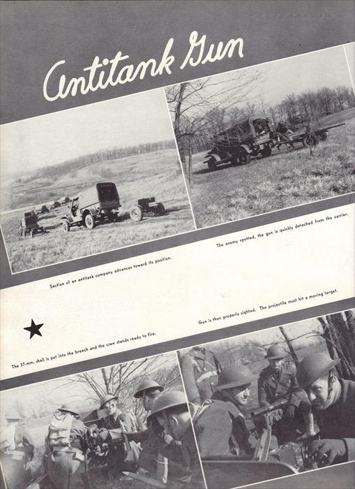 Antitank weapons of the 5th Infantry Division.