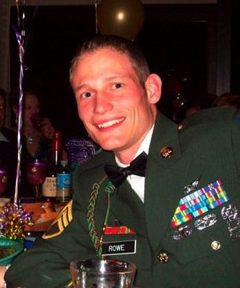 Scott at an Army Ball in 2008.