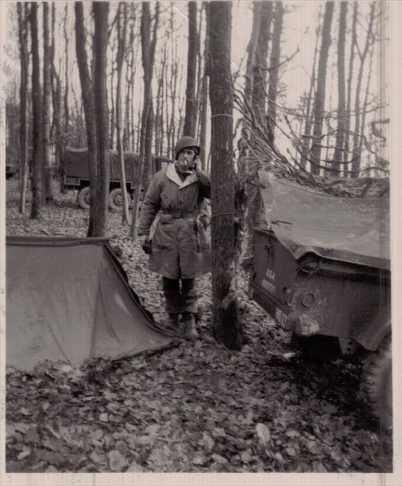Dad on maneuver, Germany, 1951-1953.