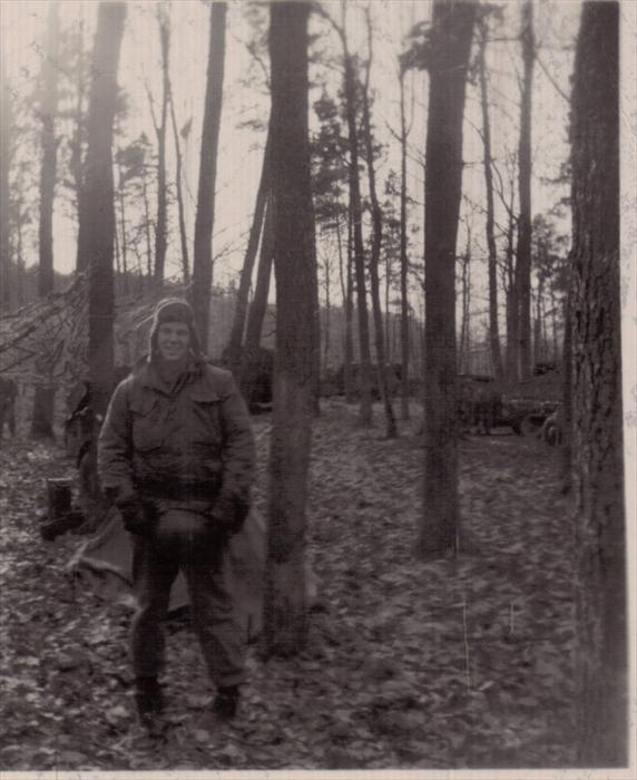 Smitty on 1st Inf Div maneuver, Germany, 1951-1953.