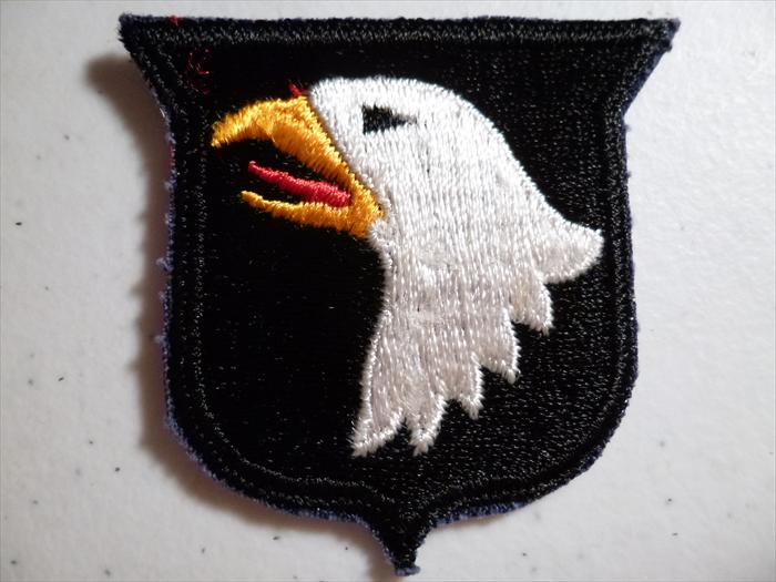 Dad's Screaming Eagle patch.