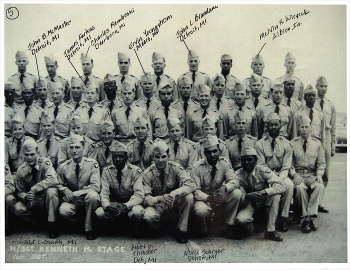 "101st Airborne, 516th Reg. ""G"" Company Basic Training graduation photo. P. 5 of 5. Charles Remboski of Dearborn, MI added. ""Like"" John Tubinis at Camp Breckinridge on Facebook."