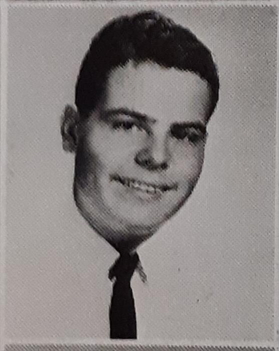 Taken just before joining the Navy. School Picture.