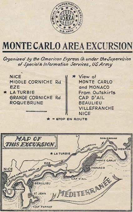 Monte Carlo excursion option, my grandfather did not go on this one.