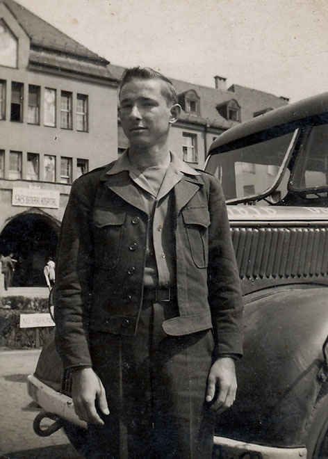 My grandfather Munich, Germany General Hospital May 1946.