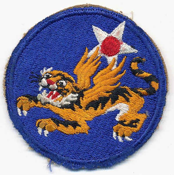 Flying Tiger insignia.