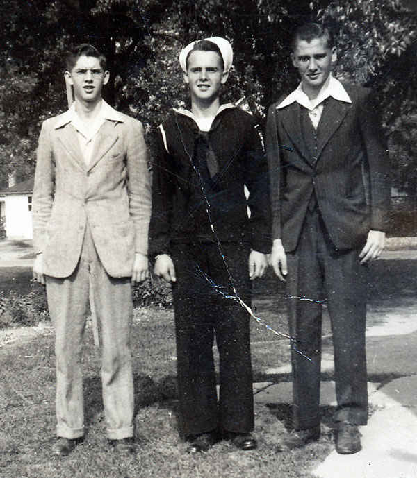 Melvin, Ralph, and Richard Wrasman.