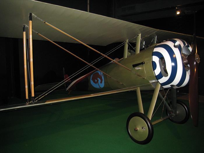 Nieuport 28 was the first plane flown by American Expeditionary Forces (AEF) during World War I. The plane did not service long as the SPAD XIII replaced it but even World War I ace Eddie Rickenbacker flew the French built Nieuport for a short period.