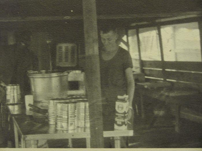 C btry 1/27th mess hall 1968. Ican't tell who this is one of our cooks.