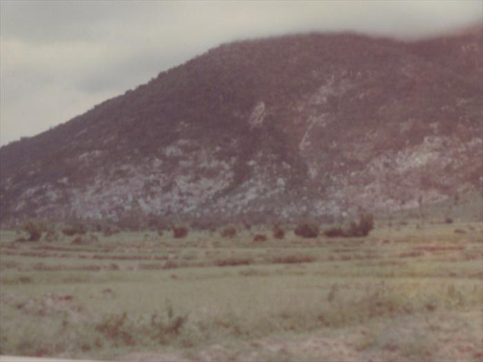 taken during a support mission with the 25th inf. to the base of the black virgin mountain.