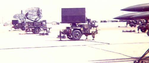 The Hawk Missile System that Dennis trained on. Ft. Bliss, TX 1973.