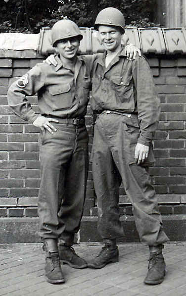 Staff Sergeant Joseph Gelsi to the left.