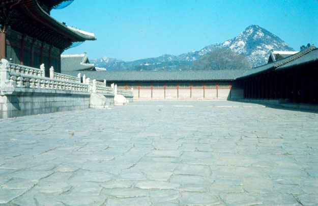 Seoul, Korea Palace from YI Dynasty 1973-1974.