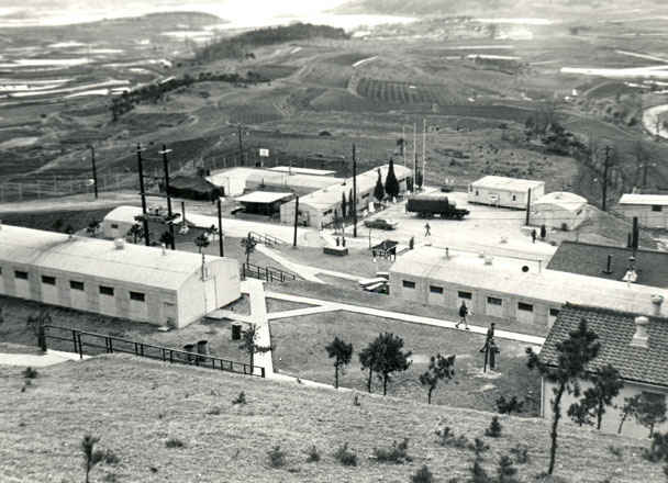 Korea U. S. Army B Battery barracks 1973-1974.