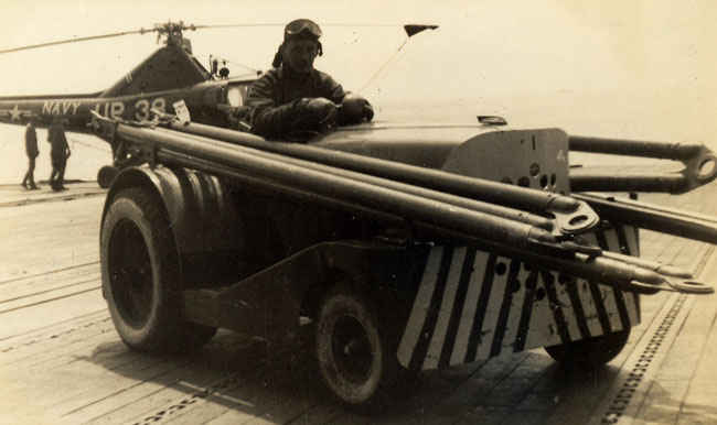 Push truck on Boxer Korean waters.