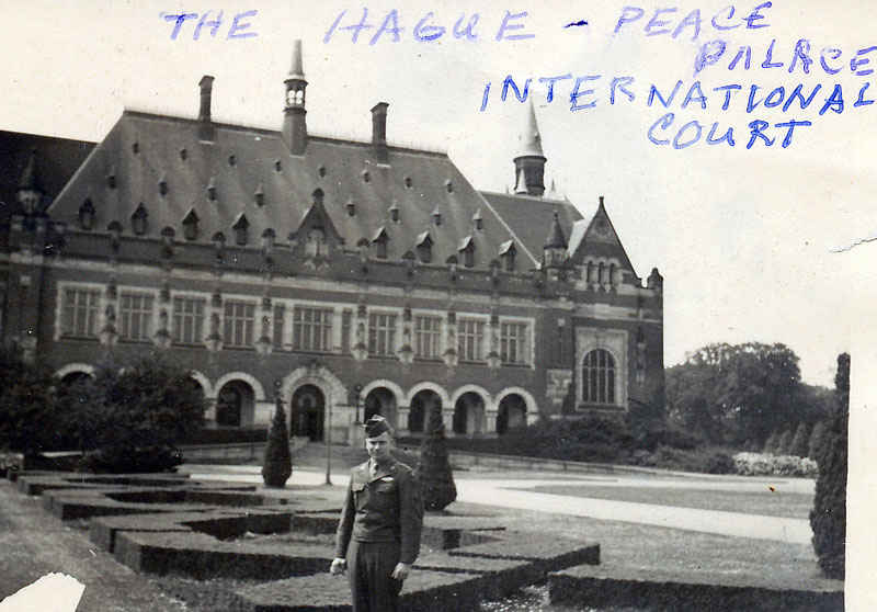 The Hague Peace Palace International Court, Netherlands.
