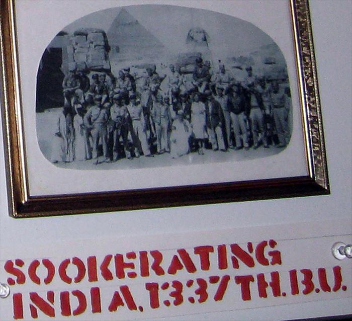 1337th Sookerating, India.