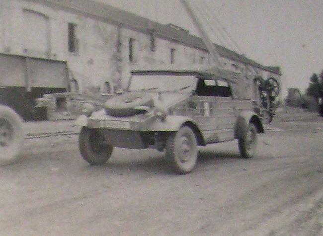 Captured German Jeep they used.