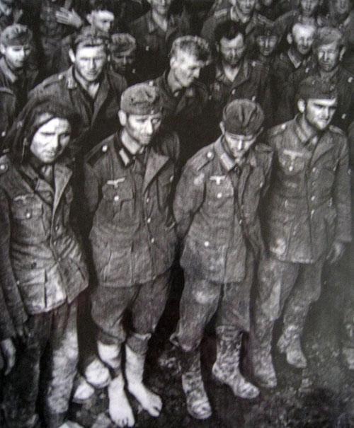 German Prisoners of War in 1945.