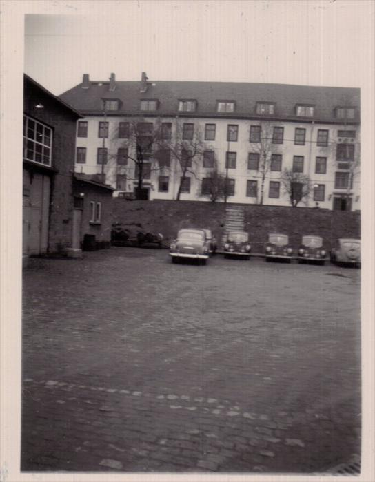 Cambrai Fritsch Kaserne 1951-1952. Darmstadt, Germany.