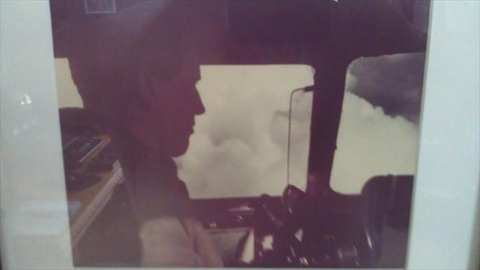 Lt. Herron Piloting a C-46 Over The Hump 1944