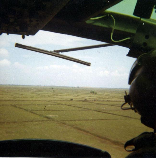 Bell UH-1 series Iroquois in Vietnam.