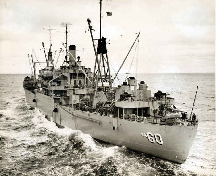 USS Leo (AKA-60), an Andromeda-class attack cargo ship, was named for the constellation Leo.  USS Leo served as a commissioned ship for over a decade. Leo is the only ship of the United States Navy to hold this name.