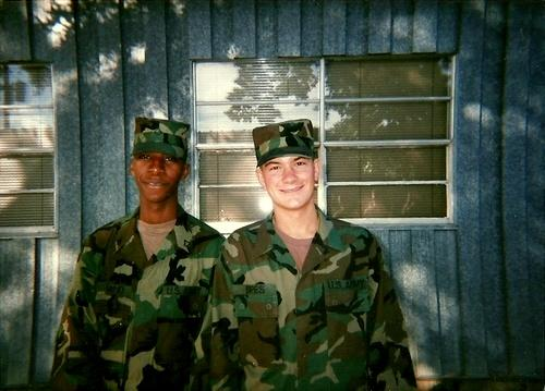A good friend of mine from Foxtrot Company 232 Medical Battalion 91B, field medic school taken in 1995.