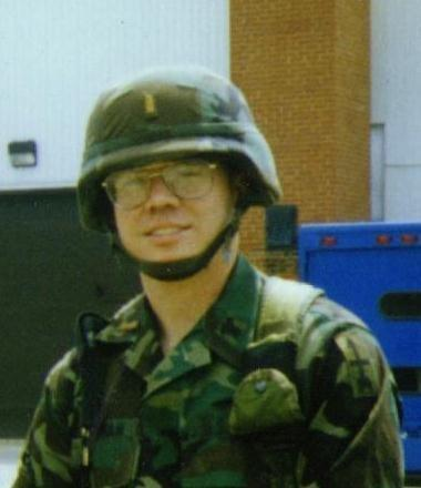 At QM OBC in March of 1996 at Fort Lee, VA