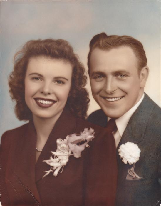 Gene and his wife Patrica