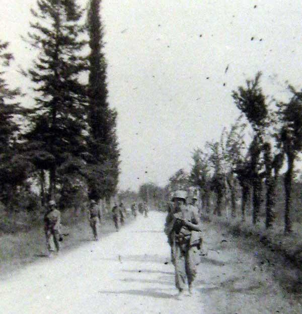 10th Mountain Division on patrol in Italy during World War II.