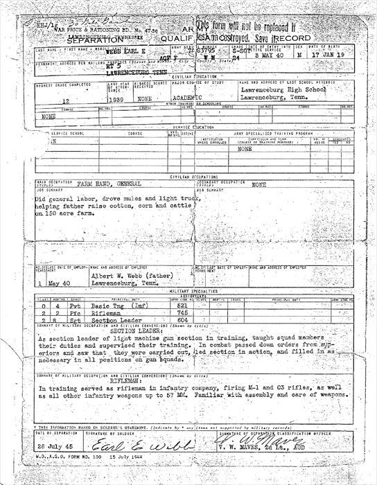 Discharge Papers 2