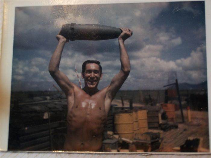 Photo taken at Fire support base Washington, Vietnam 1969