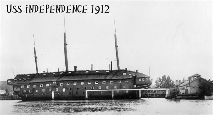 Served aboard the USS Independence, 1912.