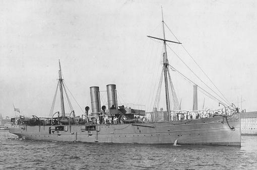 Served aboard the USS Topeka on Jan 1, 1904.