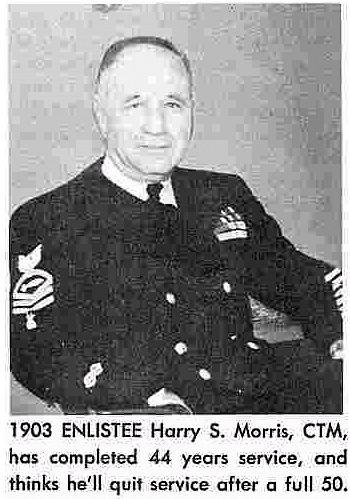 Picture of Chief Morris from a newspaper article written about him in 1948.